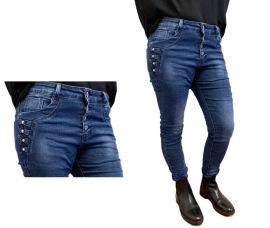 Caramel Jeans m pärlor