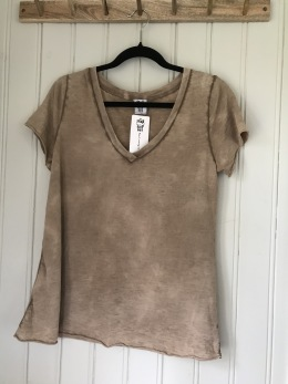 Stail_se T-shirt, camel - Onesize
