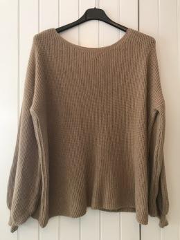 REA Stail_se tröja Amelia camel - Onesize