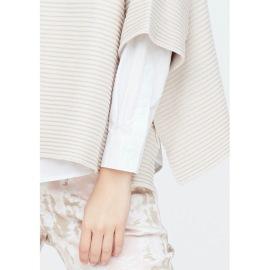 Isay Randi stickad tröja, sand