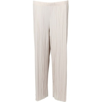 Isay Reef plisserade pants, sand - Strl S