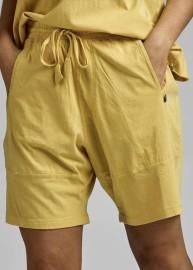 Ajlajk Shorts i ekobomull gul