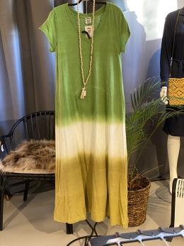 Stail_se maxiklänning grön - Onesize grön