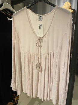 Stail_se blus i ljusrosa - Onesize rosa