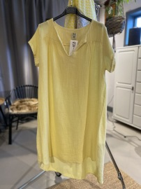 Stail_se klänning/tunika gul