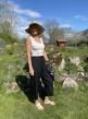 Stail_se Bali 3/4 pants svarta