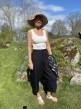 Stail_se Bali 3/4 pants svarta - Strl m/l