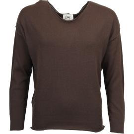 Isay Herla pullover mörkbrun