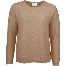 Isay Vilda classic pullover camel