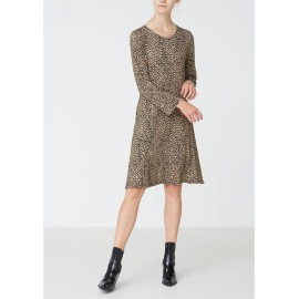 Isay Kalla dress camel/svart