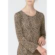 Isay Kalla dress camel/svart
