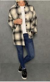 Caramelle jacka/skjorta