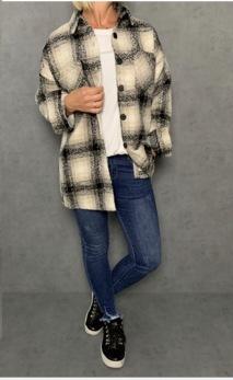 Caramelle jacka/skjorta - Strl S