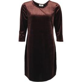Isay Ewy dress mörkbrun