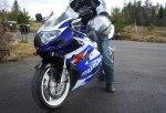 Johans motorcykel
