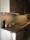 Köksglas 5 som glaspanel i kök