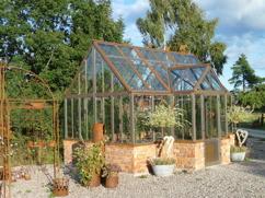 Härdat glas till växthus