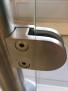 Klämfäste rostfritt 316 - Klämfäste 40x50 för rostfri stolpe med glas 8 mm. Gummi ingår för 8 mm glas till våra klämfäste