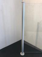 Glasräcke stolpe aluminium