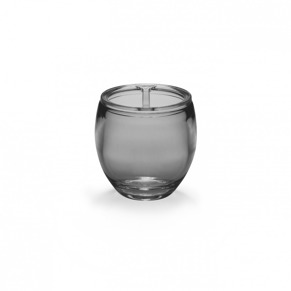 Tandborstglas - Tandborsglas Droplet svart