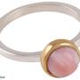 Ring - Ring Rosa opal