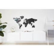 Världskarta med magneter