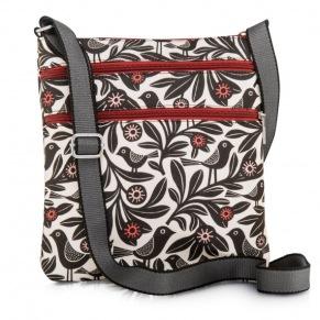 Väska - Väska black bloom