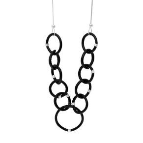 Halsband - Halsband läderöglor