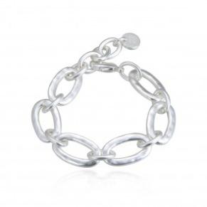 Armband - Armband öglor silver