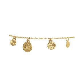 Armband - Armband plättar guld