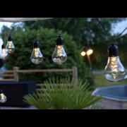 Lampslinga utomhus