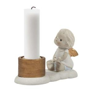 Ljusstake med ängel - Ljusstake ängel