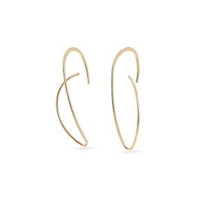 Örhänge - Örhänge sväng guld