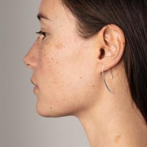 Örhänge - Örhänge stav silver