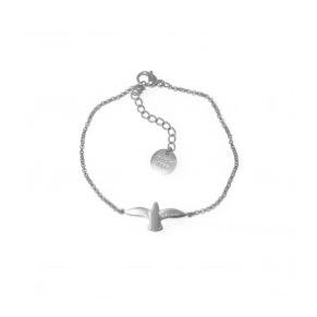 Armband - Armband duva stål