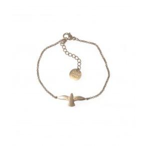 Armband - Armband duva guld