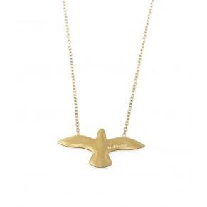 Halsband - Halsband duva guld