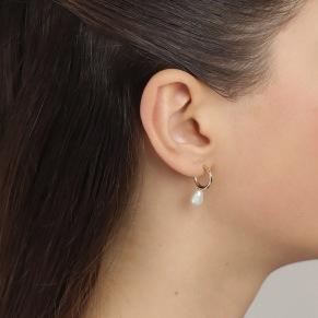 Örhängen - Örhängen pärla