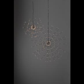 Ljusdekoration - Firework silver
