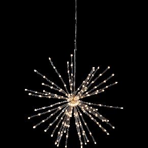 Ljusdekoration - Firework svart