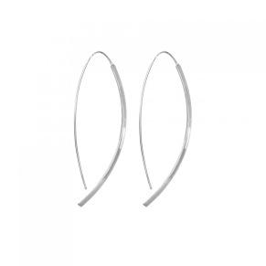 Örhängen - Örhängen silver stav