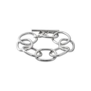 Armband - Armband silver öglor