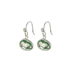 Örhängen - Örhängen grön sten