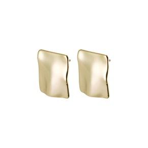 Örhängen - Örhängen guld platta