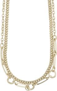 Halsband - Halsband  dubbelt guld