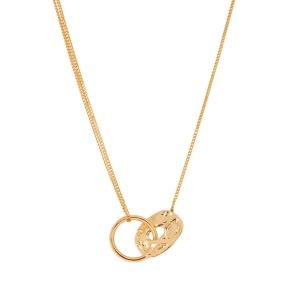 Halsband - Halsband kort guld