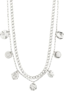 Halsband - Halsband silver 2mix
