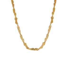 Halsband - Halsband matt guld
