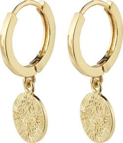 Örhängen - Örhängen guld hänge