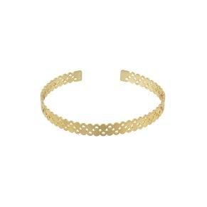 Armband - Armband stelt guld